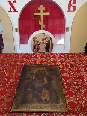 Новости: 25 февраля 2020 г. в Трехсвятском храме состоялся молебен в честь иконы Пресвятой Богородицы